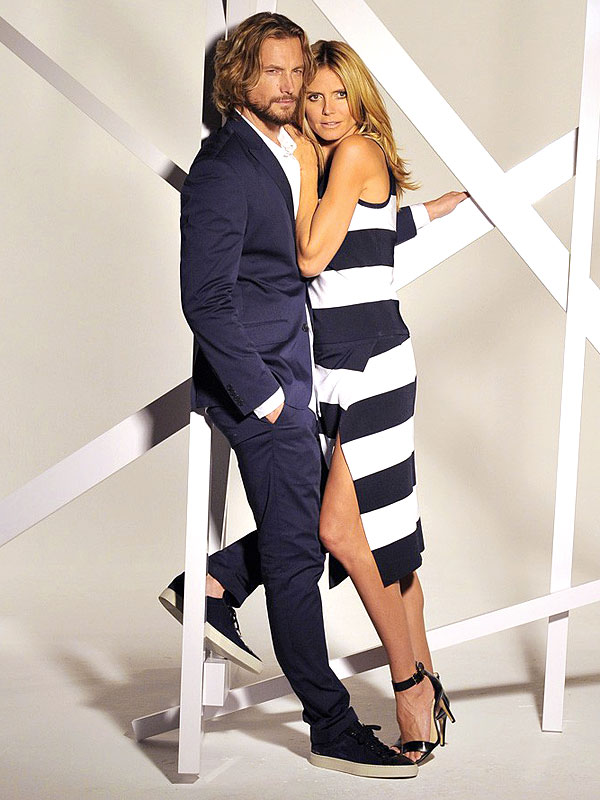 Heidi Klum and Gabriel Aubrey for INC
