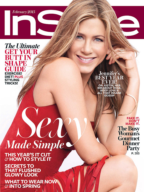 Jennifer Aniston February InStyle cover