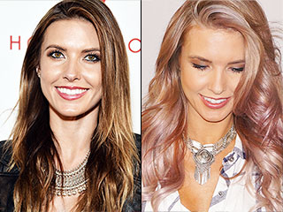 Audrina Patridge Joins the Celebrity Purple Hair Club