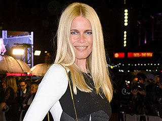 Claudia Schiffer Makes a Sizzling Red Carpet Return After a Four-Year Hiatus | Claudia Schiffer