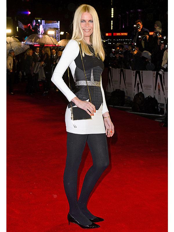 Claudia Schiffer stylewatch