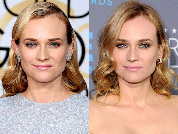 Diane Kruger hair critics choice