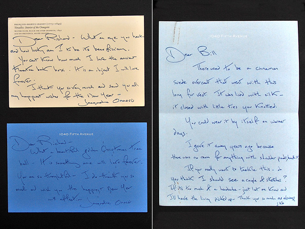 JAckie Kennedy letters