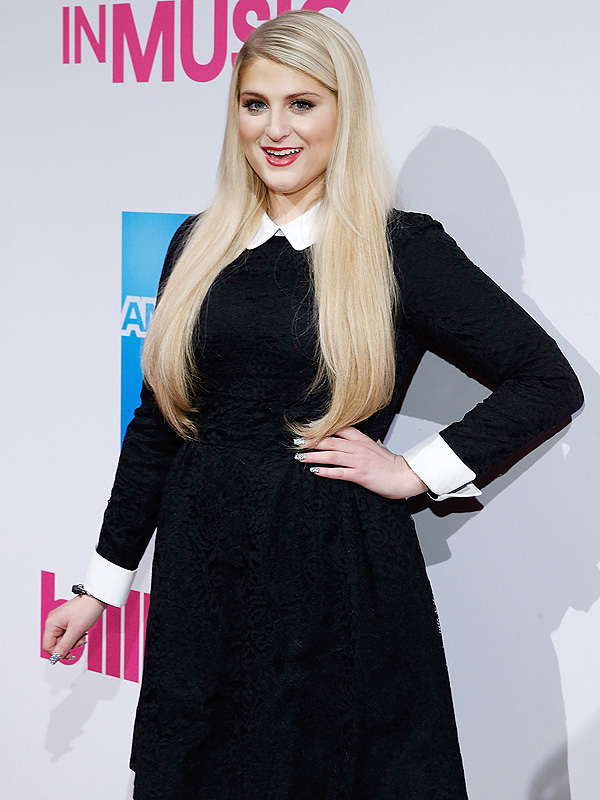 Trainor attends 2014 Billboard Women In Music Lunch