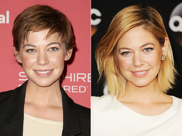 Analeigh Tipton cuts off her hair