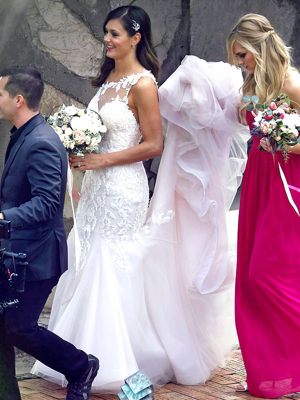 Desiree Hartsock ceremony wedding dress