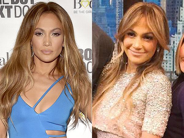 Jennifer Lopez bangs