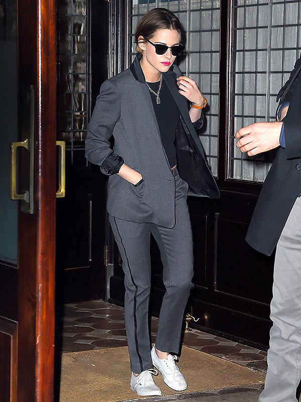 Kristen Stewart suits