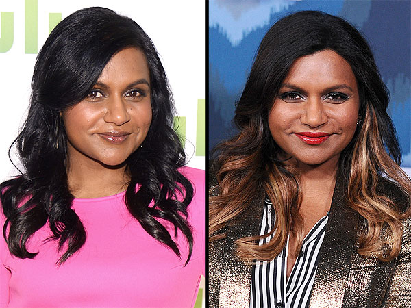 Mindy Kaling blonder