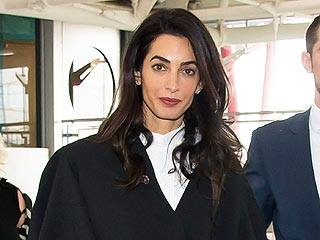 A Reporter Asks Amal Clooney What She's Wearing In Court. Her Answer Is Awesome