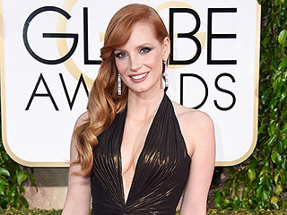 Jessica Chastain Has a Storage Unit Filled with Her Old Red Carpet Dresses