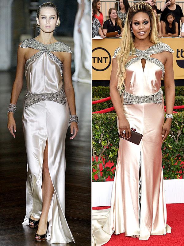 Laverne Cox Emmys dress