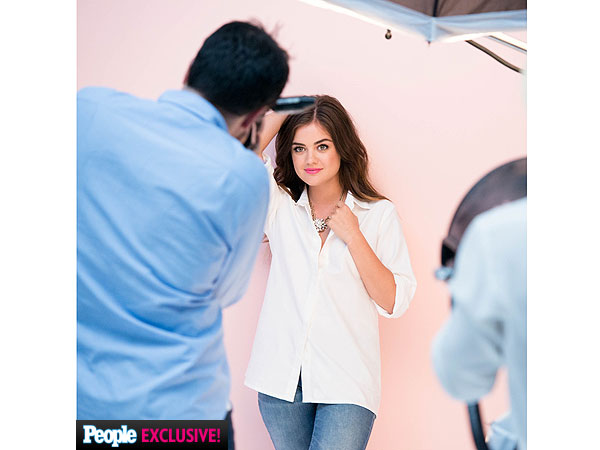 Lucy Hale mark cosmetics