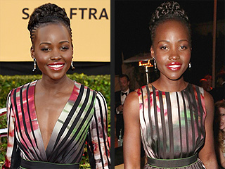 Lupita Nyong'o's SAG Afterparty Dress Was a Mini Version of Her Red Carpet Gown (Genius!)