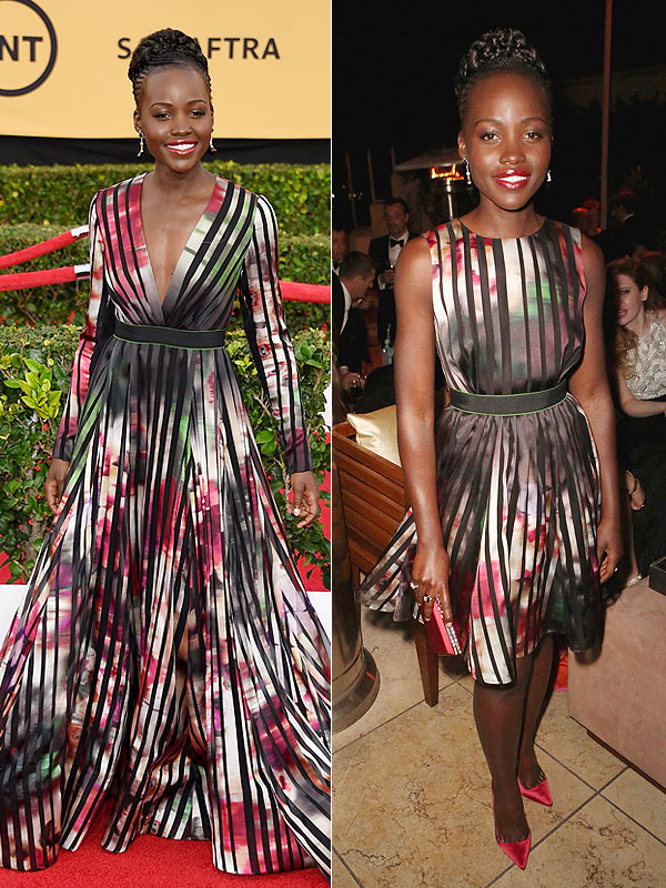 Lupita Nyong'o SAG Awards 2015 dress