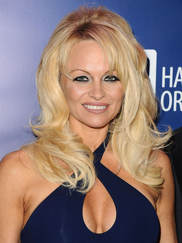 Pamela Anderson aging