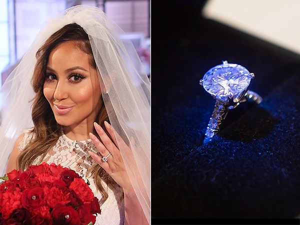 Celebrity Engagement Rings Adrienne Bailon Engagement