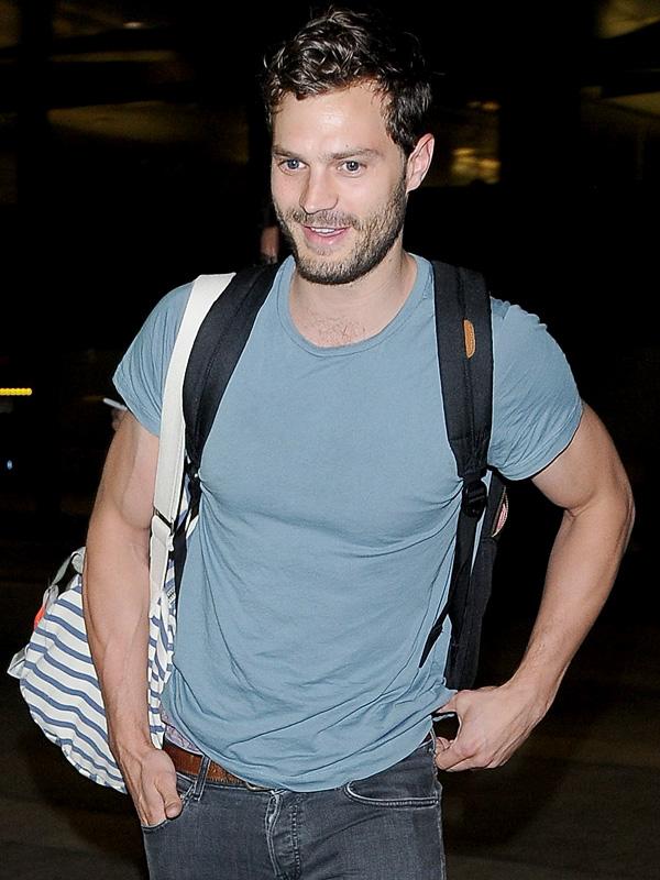 Jamie Dornan Muscles