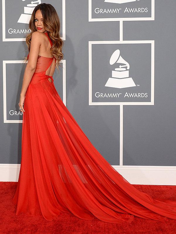 Rihanna 2013 Grammys