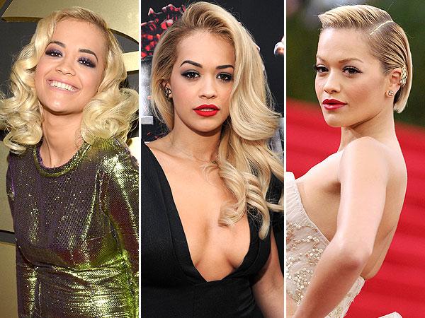 Rita Ora Hair Looks