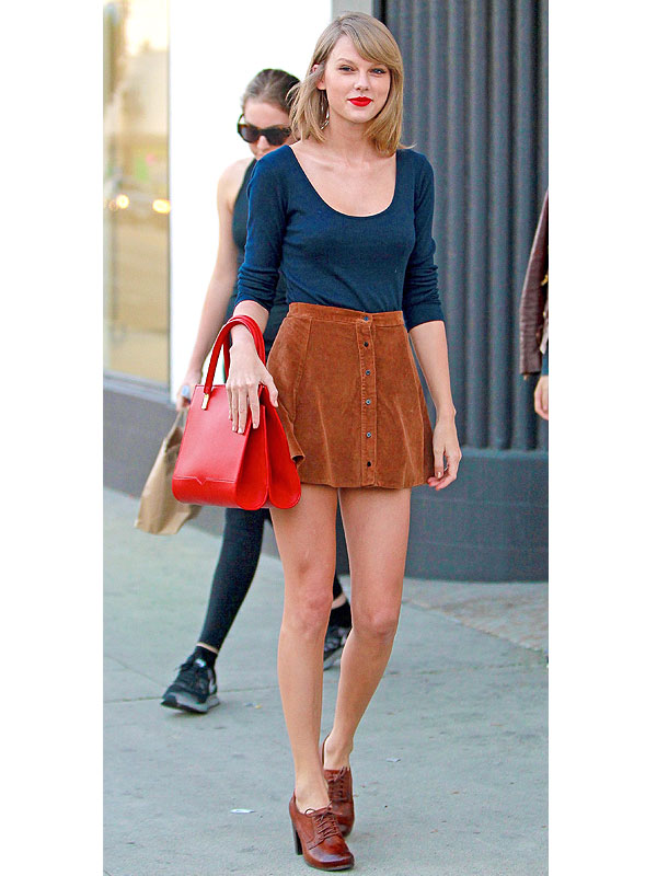 Taylor Swift Outfit Update This Might Be The Shortest