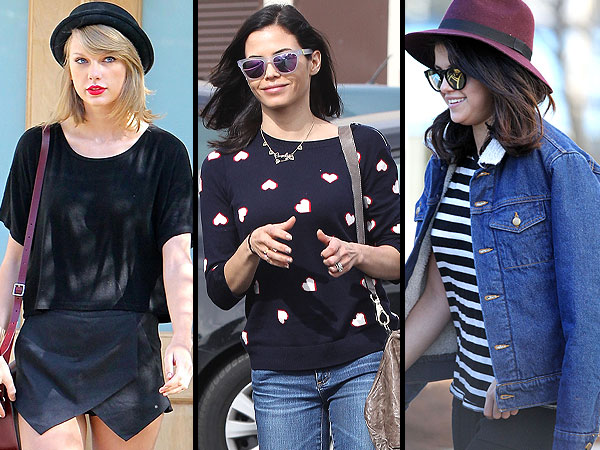 February 4th 2015 - TAYLOR SWIFT visits the studio