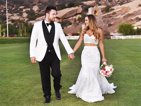 Scheana Marie wedding dress