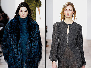 Michael Kors Taps the Model A-List (Kendall! Gigi! Karlie) for His Fashion Week Show