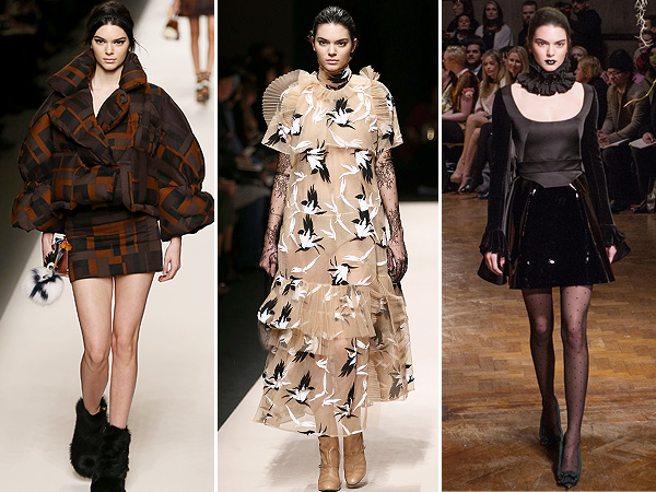 Kendall Jenner London and Milan Fashion Weeks
