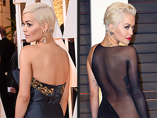 Rita Ora Wears Butt-Flashing Sheer Gown to an Oscars Afterparty (and More Outfit Changes You Have to See)