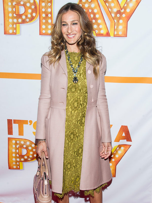 Sarah Jessica Parker on Friday, Jan. 23, 2015 in N