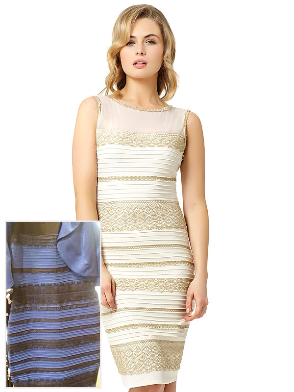 The Dress White and Gold