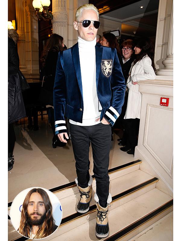 Jared Leto platinum hair