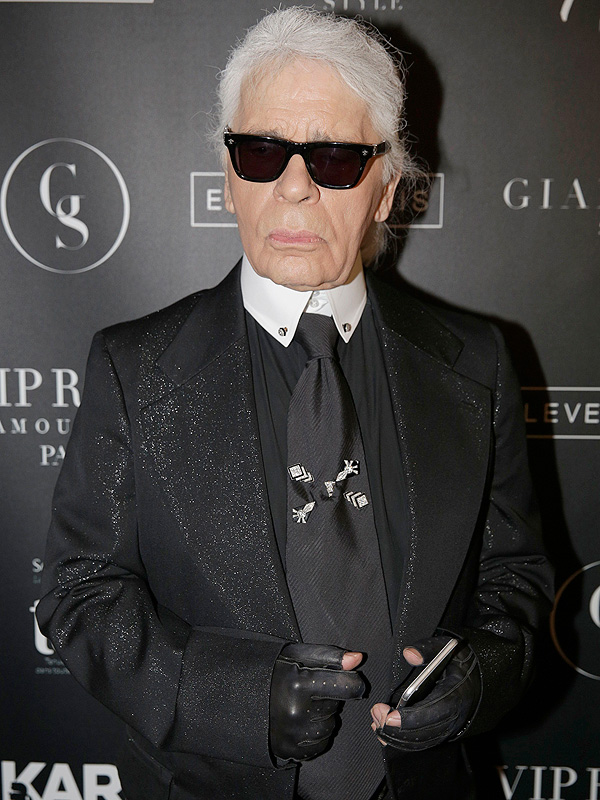 Karl Lagerfeld on Selfies, FEndi fur