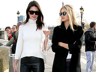 Friends Forever! Kendall Jenner and Gigi Hadid Confirm BFF Status with Love Lock in Paris