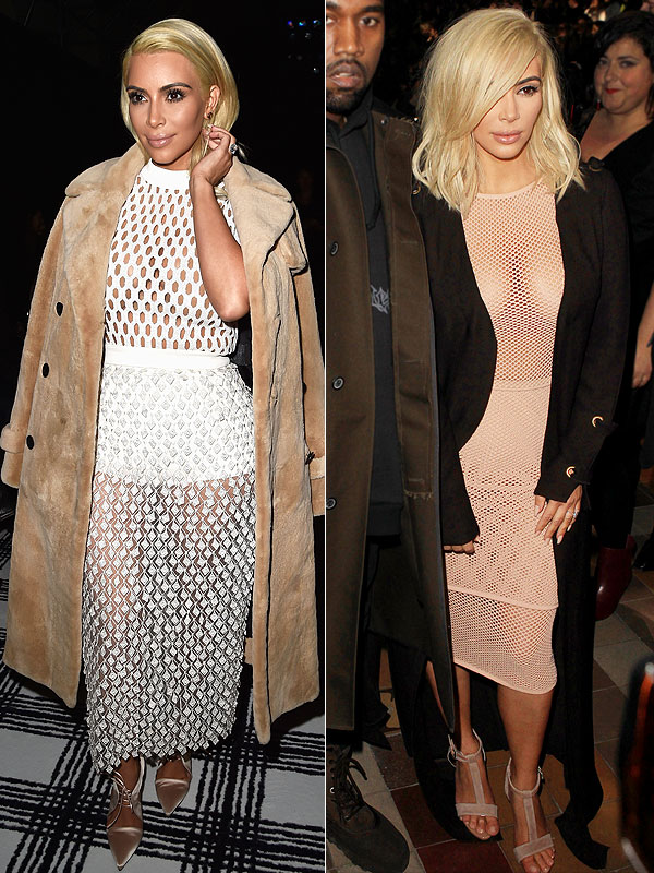 Kim Kardashian Paris Fashion Week style