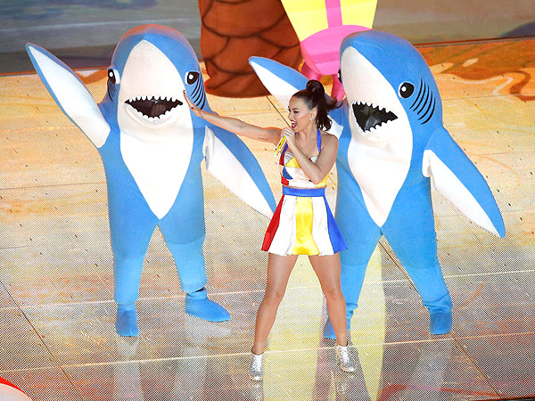 Left Shark Katy Perry