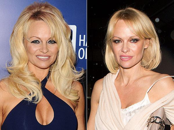 Pamela Anderson bob
