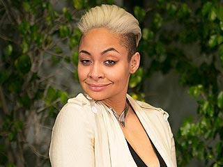 Raven-Symoné Is Experimenting with a Platinum Blonde Hairpiece (PHOTOS)
