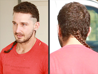 Shia LaBeouf's Long, Braided Rattail: Discuss Amongst Yourselves