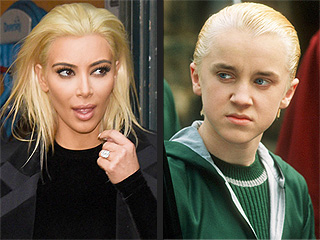 Tom Felton (aka Draco Malfoy) Says What We're All Thinking: Kim Kardashian Looks Like Draco Malfoy