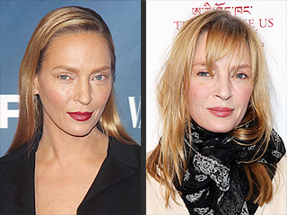 Uma Thurman's Textured Bangs, and More Star Hair Moments You'll Want to See