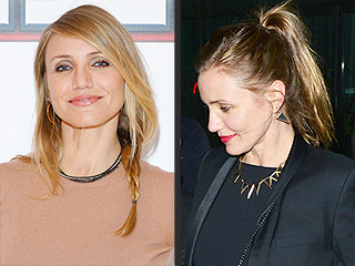 Cameron Diaz Gets in Touch with Her Dark Side: Check Out Her Edgy New Look