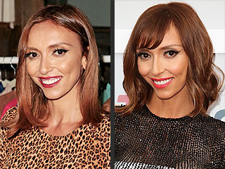 Giuliana Rancic Cuts Her Hair, Dyes It Darker and Gets Bangs All in One Go