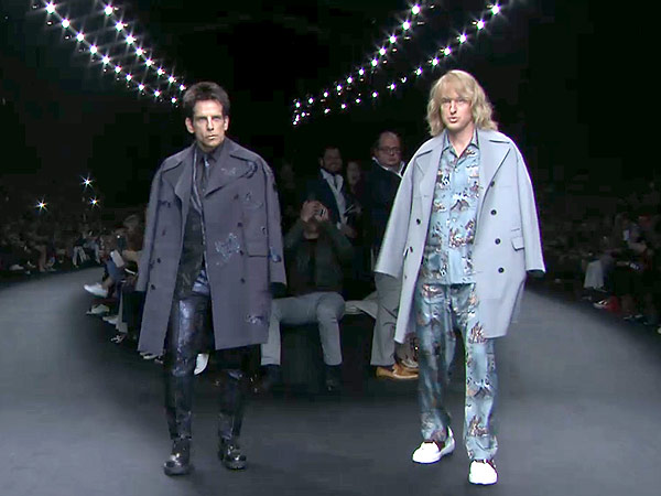 Ben Stiller and Owen Wilson as Zoolander