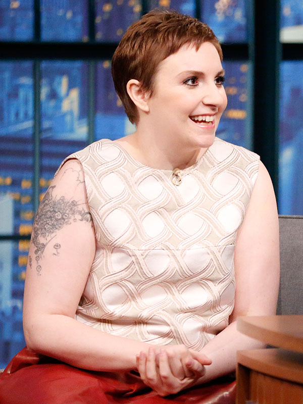 Lena Dunham Late Night With Seth Meyers