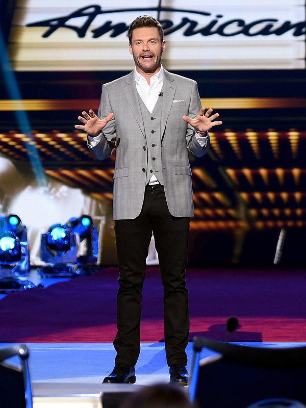 Ryan Seacrest American Idol style