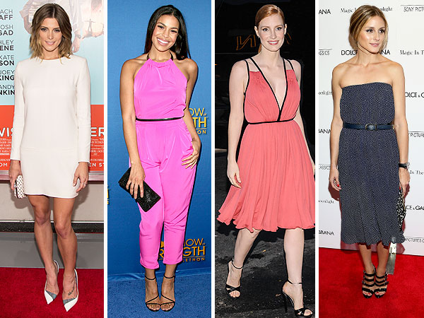 Ashley Greene, Jordin Sparks, Jessica Chastain, Olivia Palermo