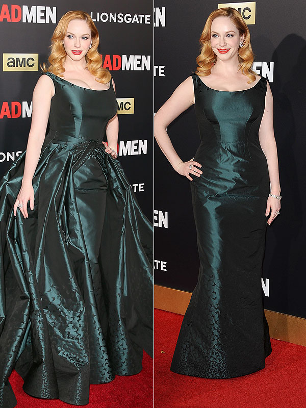 Christina Hendricks Mad Men Ball