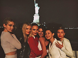 Kendall Jenner, Cara Delevingne, Katy Perry and More Stars Cruise Along the Hudson River With Karl Lagerfeld (See All the Photos!) | Kendall Jenner